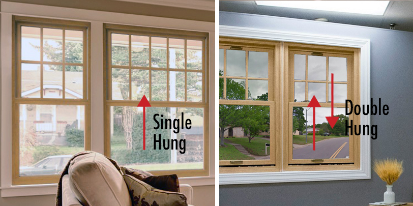 Single and Double Hung Window