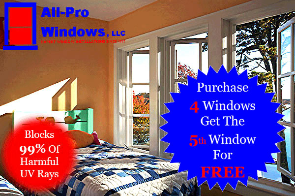 Purchase 4 Windows and Get 5th Window For free
