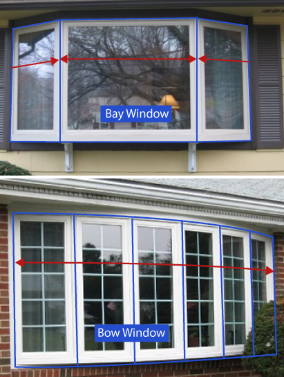 Bay and bow Windows Installation in Bridgeport, New Haven, Hartford & Poughkeepsie CT